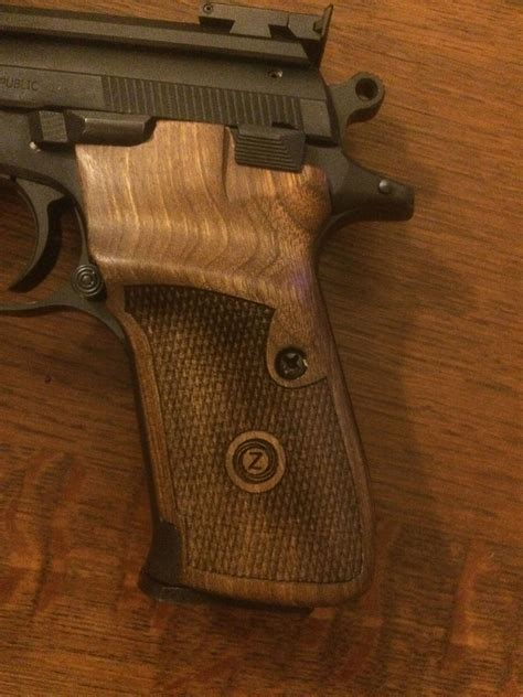 WOODEN GRIPS FOR CZ 75 / 85 / SHADOW 2   CZ PARTS   CZ