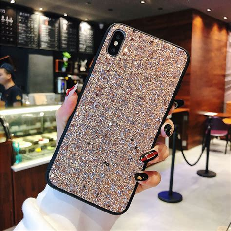 Super Bling Phone Case for iPhone 8 Xs Max Xr Luxury