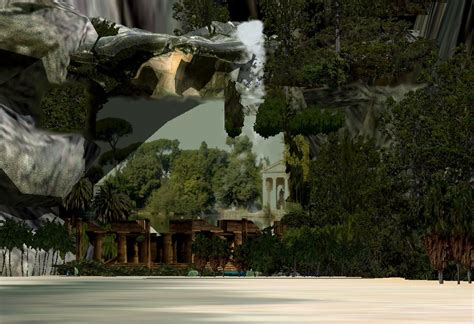 Mystery Temple of Artemus Scenery for FSX