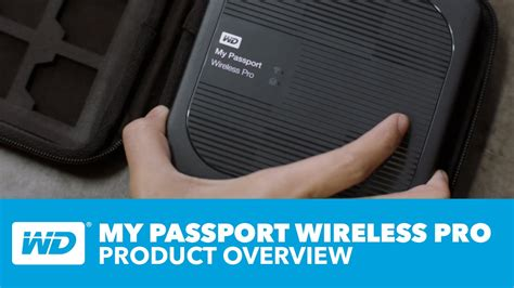My Passport Wireless Pro   Official Product Overview - YouTube