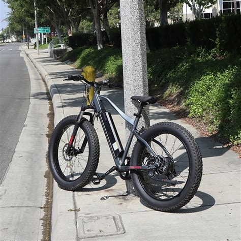 Electric Fat Bike Fat Tire 48v Electric Assist Bicycle 26