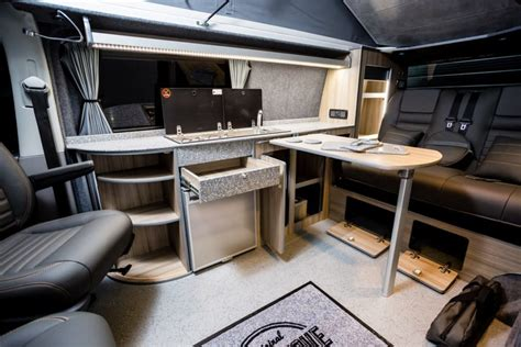 The Graham's VWT5 (LWB) Traditional 'Lux' Camper