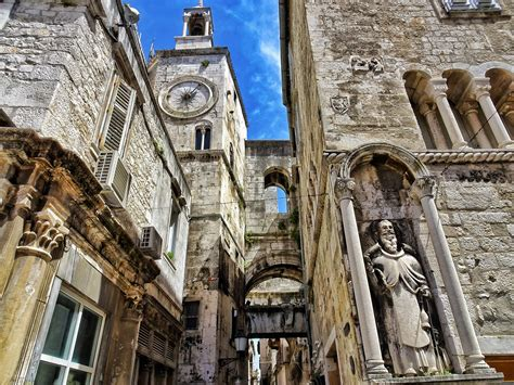 Diocletian's Palace in Split; spark your wanderlust with