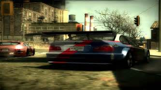 Need For Speed Most Wanted (2005) - BMW M3 GTR E46 Drag