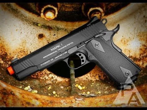 Top 5 Best Airsoft GBB Pistols - YouTube
