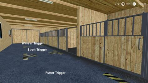 FS19 – Horse Stable With Boxes V1 | Simulator Games Mods
