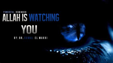 Allah Is Watching You ᴴᴰ - Powerful Reminder - YouTube