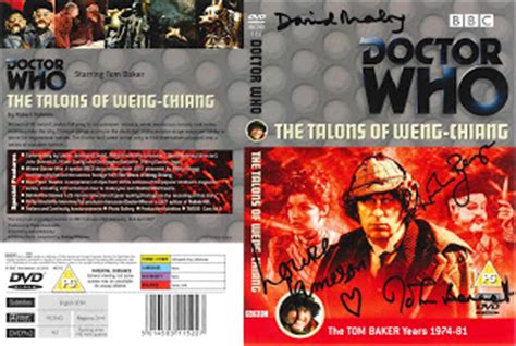 Dave's Doctor Who Collection: Signed DVD Covers