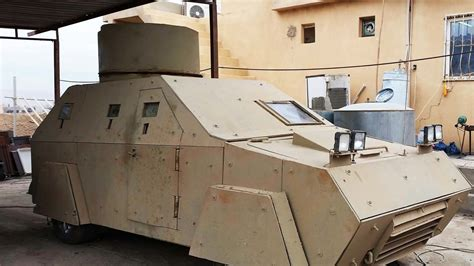 Monster Machines: ISIS's Armored War Jeeps Are