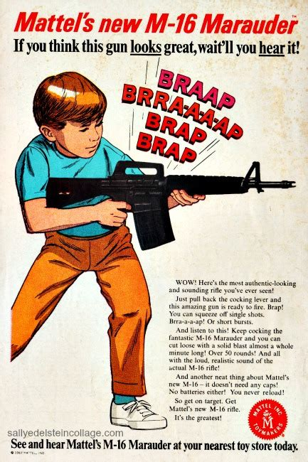 Vintage Toy Gun Ad   Envisioning The American Dream