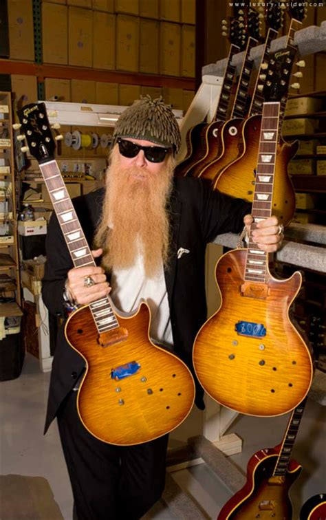 Gibson Clones ZZ Top's Pearly Gates Guitar   Luxury Insider