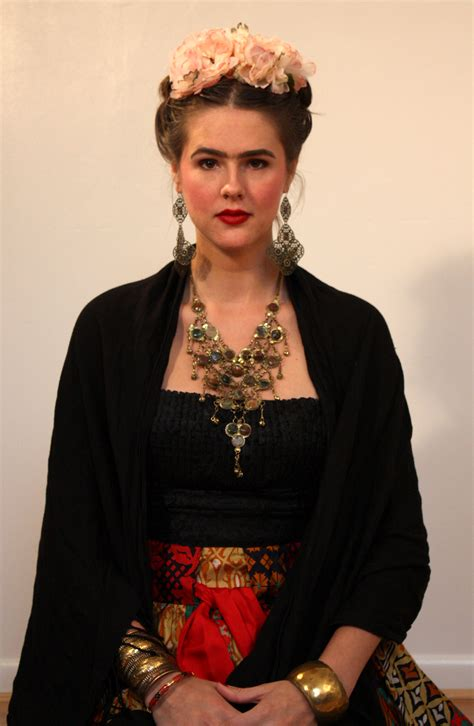What I Wore Halloween Guide: Frida Kahlo on What I Wore