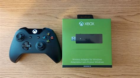 Xbox One Wireless Adapter Unboxing - YouTube