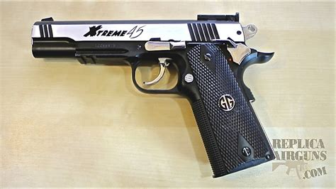 G&G Xtreme 45 CO2 Blowback Airsoft Pistol Table Top Review