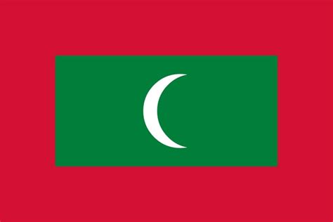 Maldives Flag - Free Pictures of National Country Flags