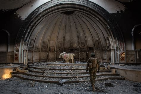 Take a Look Inside the Shattered Churches of Iraq