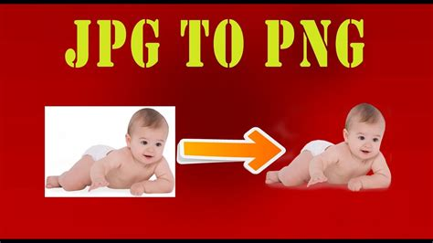 How to convert jpg to png image with full transparency or