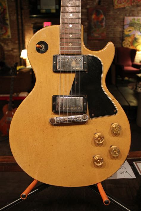 1956 Gibson Les Paul Special in TV Yellow – Root Note Music