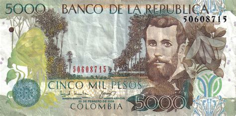 Colombian peso - currency – Flags of The World