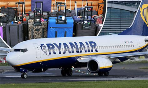 Ryanair hand luggage cabin baggage allowance for all