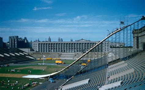 Soldier Field, Chicago » Ski Jumping Hill Archive