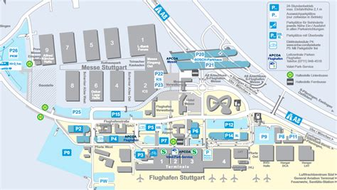 Route map Parking Traffic news (German)
