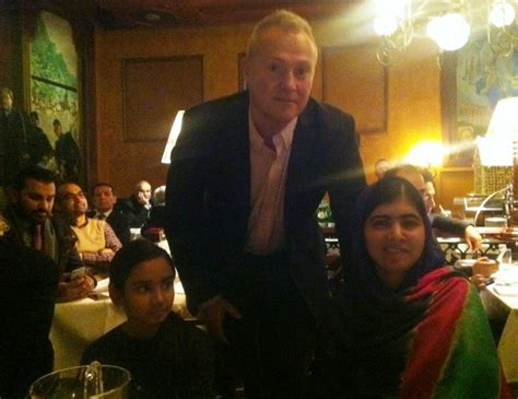 Impressionist painter Tore Hogstvedt : Malala in Oslo 2014